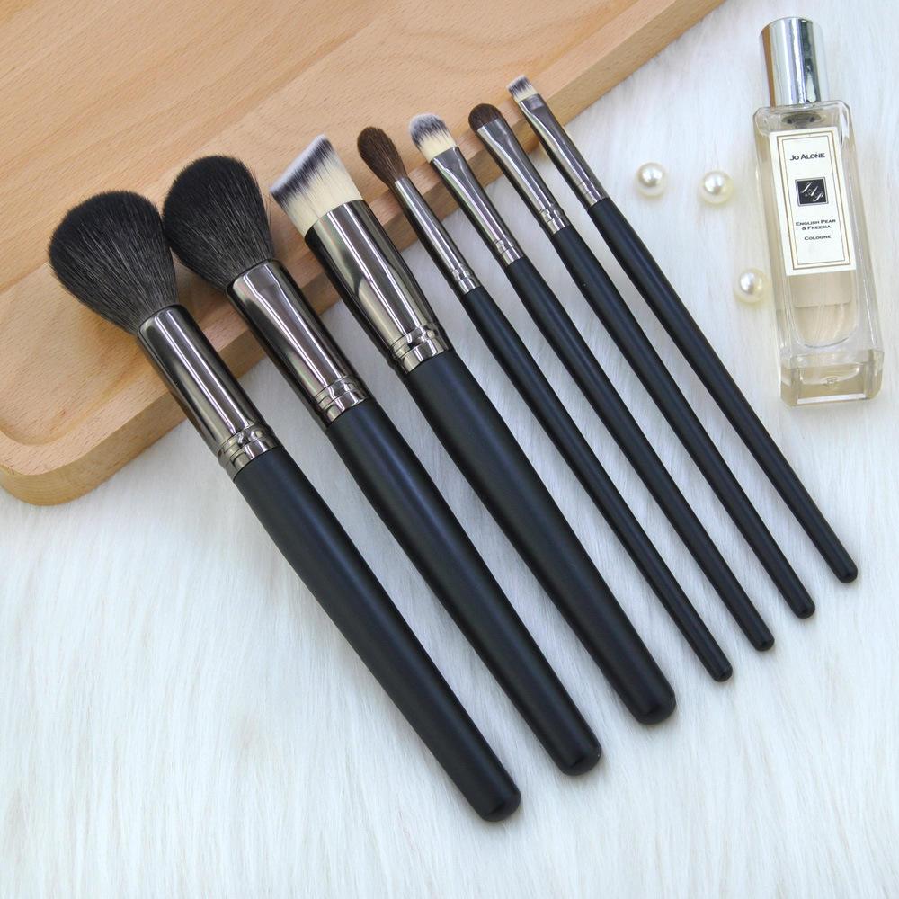 Wholesale Custom Beauty Personalised Goat Hair Makeup Brush Set For Cosmetics