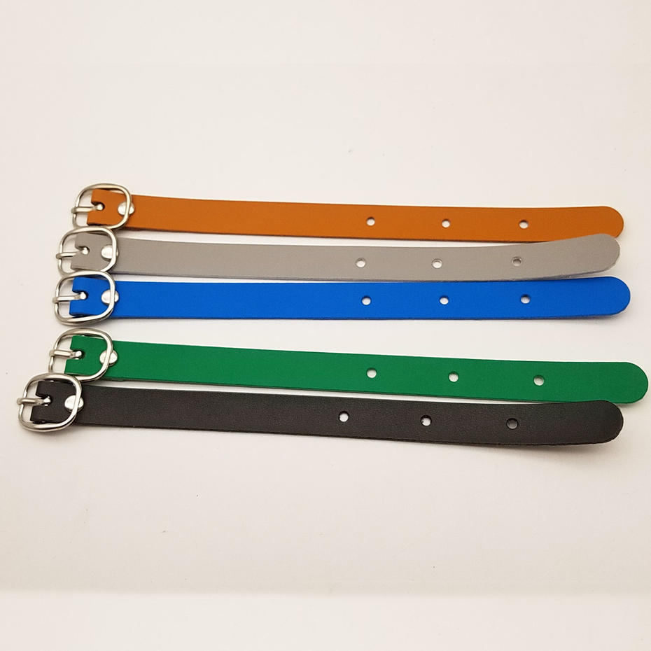 Multicolor choice 15mm handle golf tag luggage bag PU leather straps
