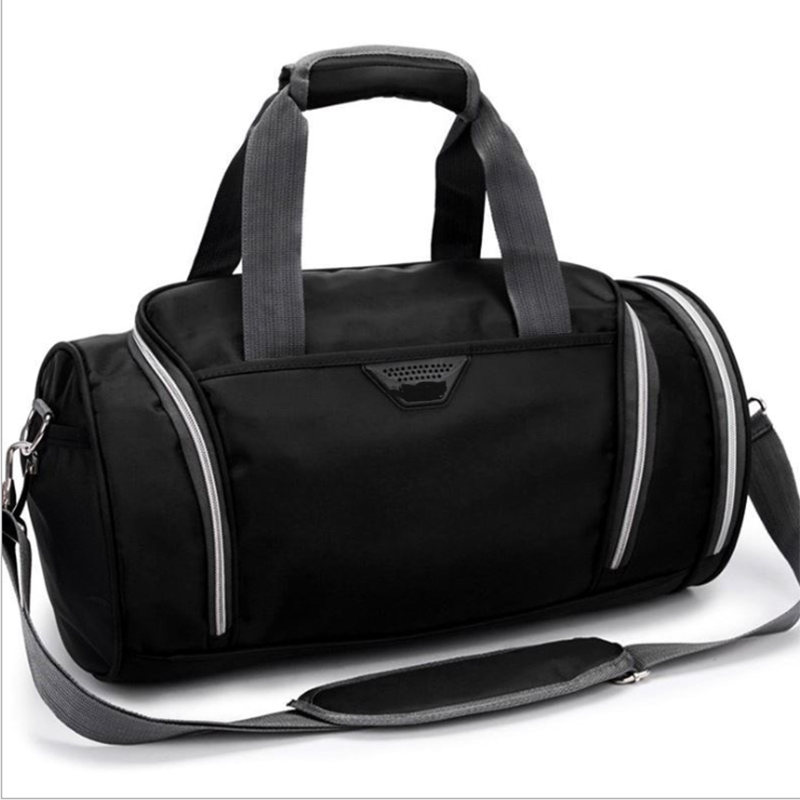 Sports Gym Bag Portable Large-capacity Cylinder Travel Bags