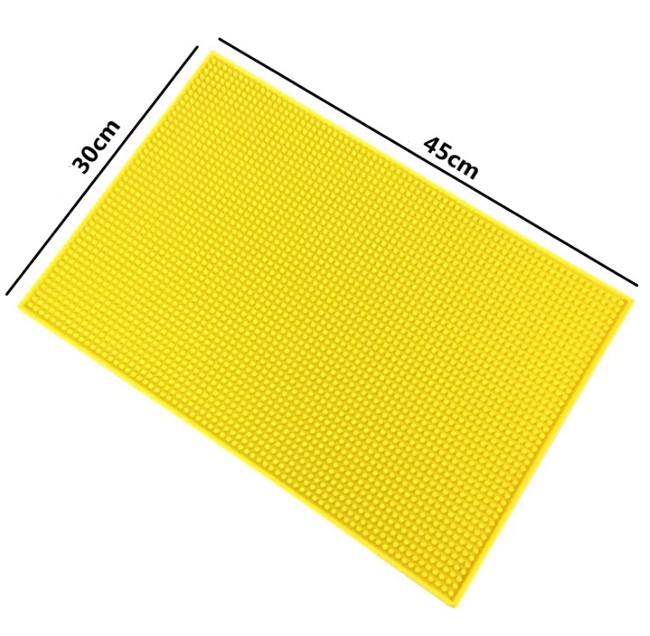 Customized soft pvc plastic rubber bar mat eco-friendly bar mat