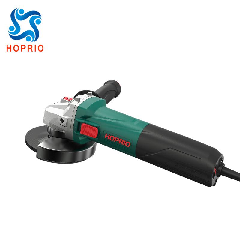 HOPRIO 4-1/2 Inch 7 Amp Brushless Angle Grinder S1M-115YE1