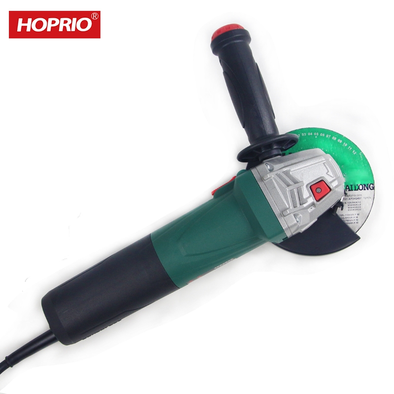Hoprio 4.5 inch 1150WM14 stone metal steel angle grinder factory