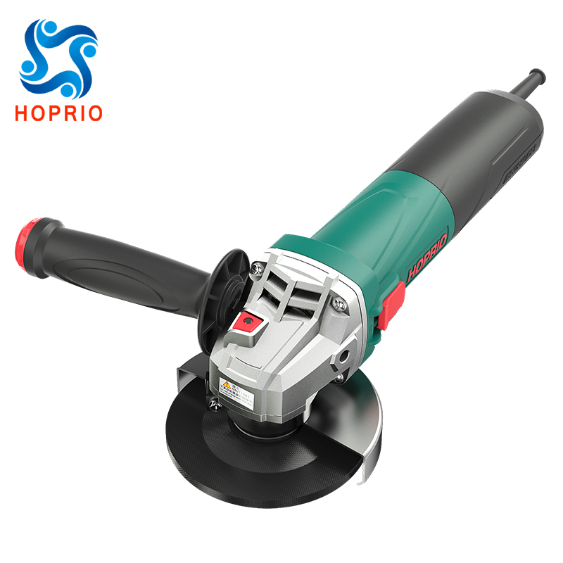 HOPRIO Brushless Angle Grinder Tools 4-1/2 Inch 7 Amp One Touch Guard S1M-115YE1