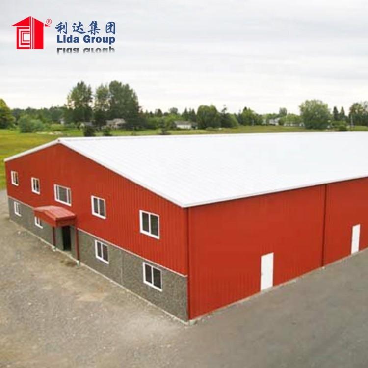 Prefabricated Sandwich Panel Buildingstructure For Industria