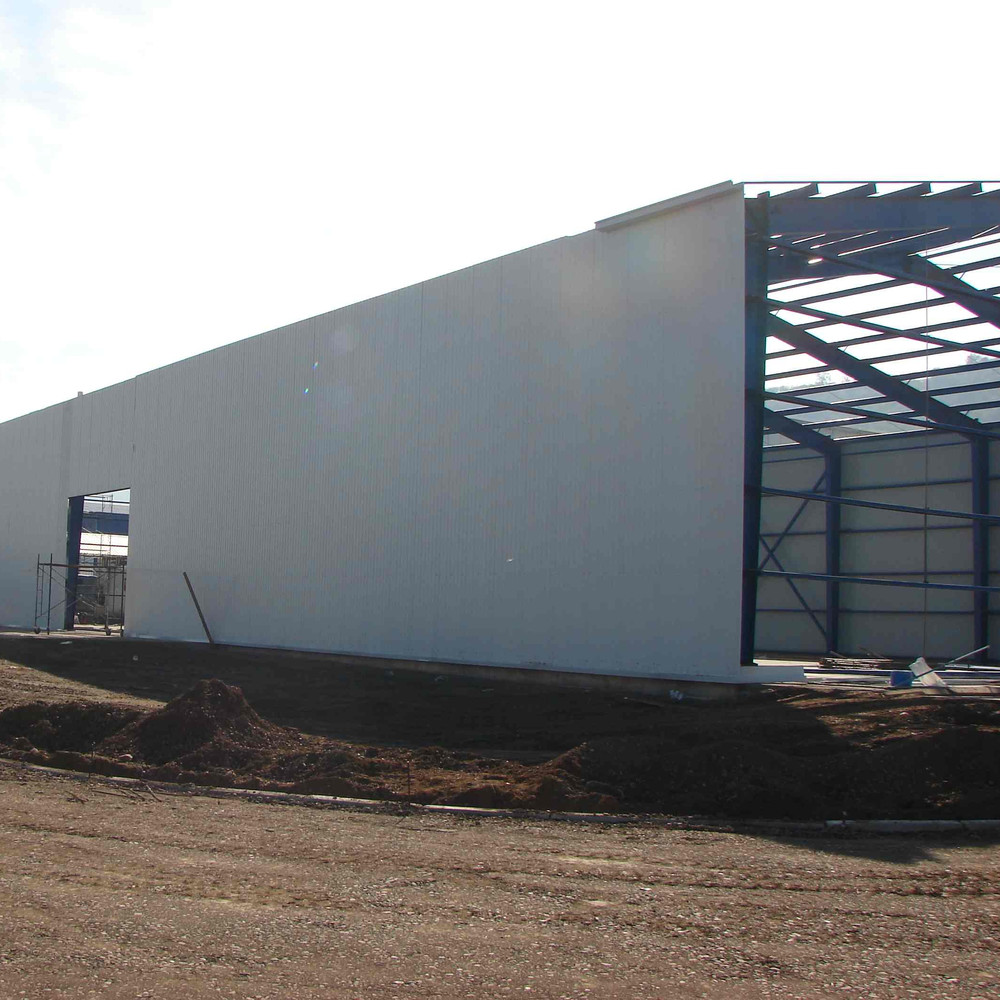 Prefabricated High Rise Large-span Steel Building Structure