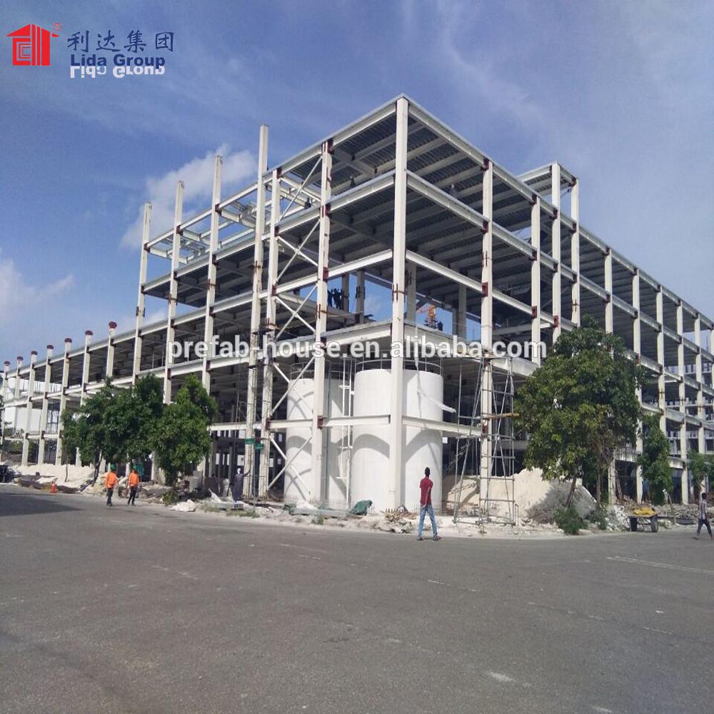 high level prefab steel building