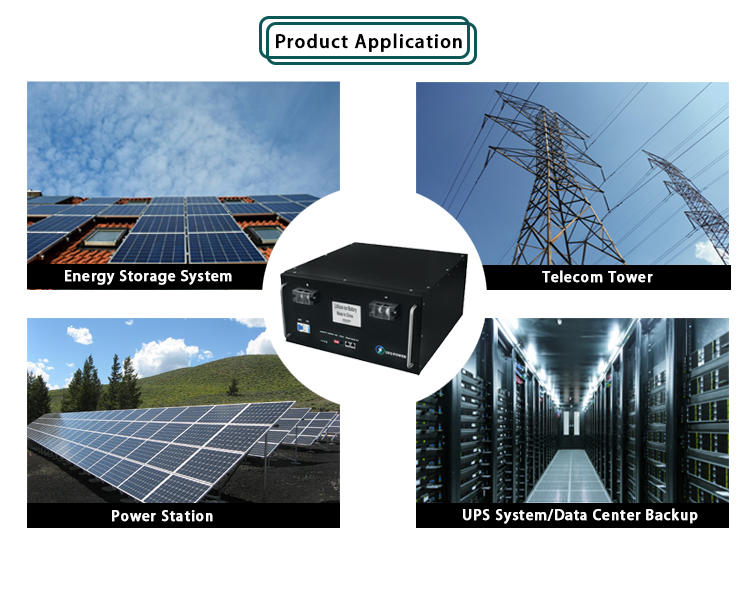 UFO Rack Mount LiFePO4 Lithium Battery Module 48V 100Ah | Optional GPRS Function | Backup Power Supp;y