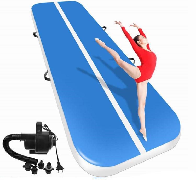2020 New Airtrack 4m 5m 6m Inflatable Air Tumble Track, Gym Mat Yoga Inflatable Air Gym Air Track Home use//
