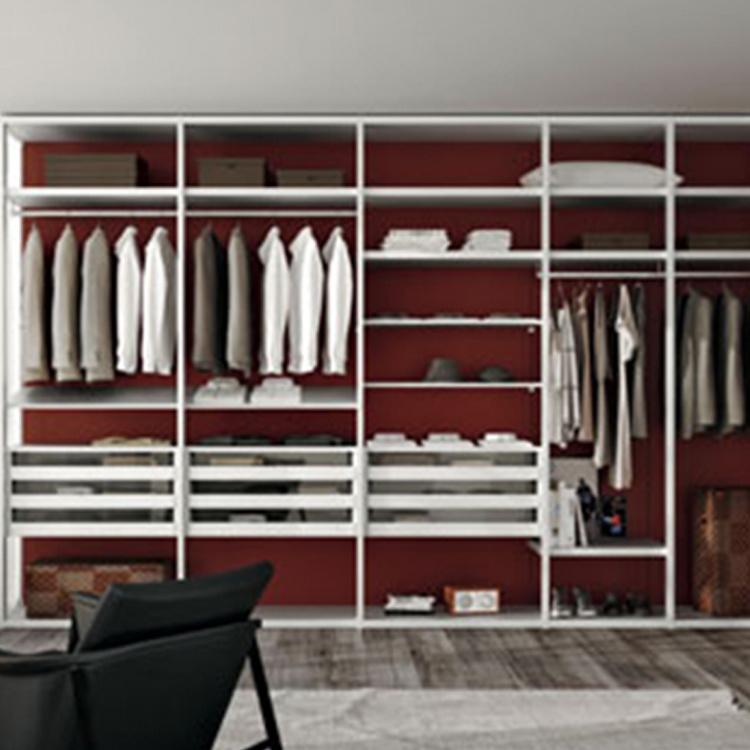 Latest new design mini wooden wardrobe door bedroom furniture clothes cabinet