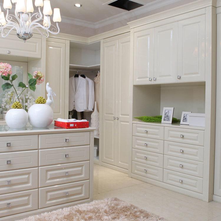 Design Wooden Fashion Closet Bedroom Furniture Wardrobe Home Furniture Modern Panel Adjustable (other)