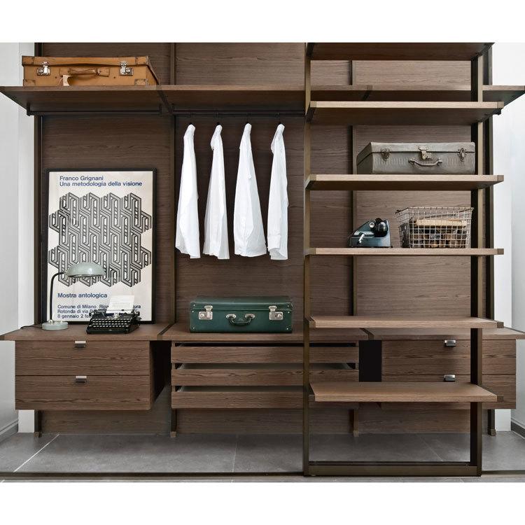 Designs Portable Clothes Organizer Closet Wood Wardrobe Cabinet Storage