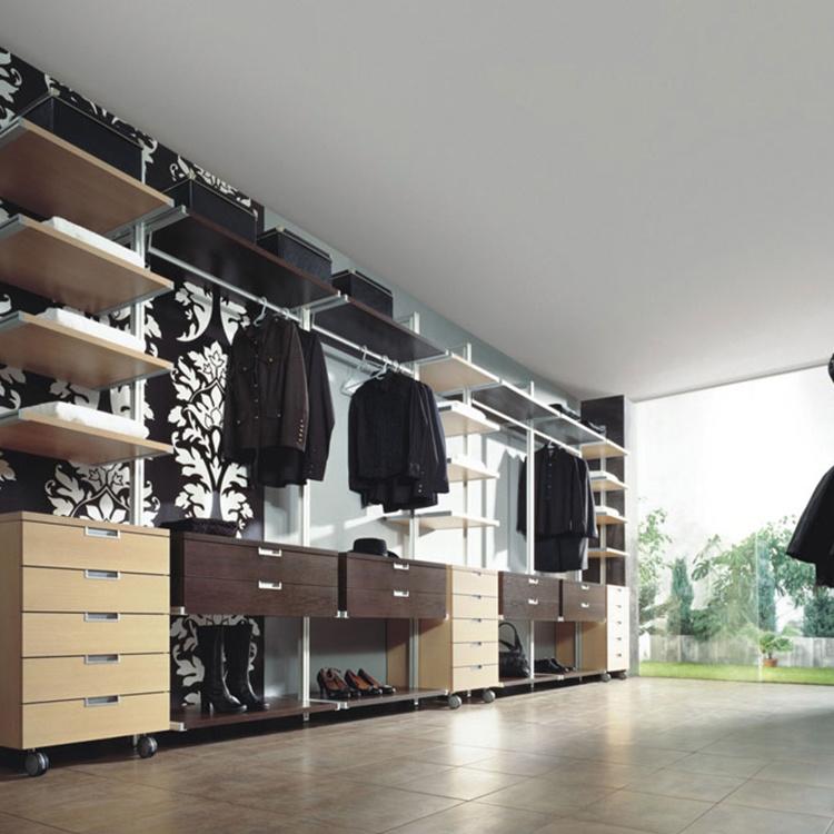 Hot sale modern design 2 doors sliding baby closet wardrobe cabinet