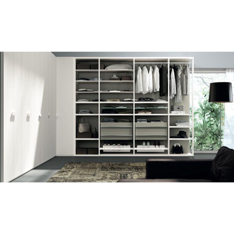 Wardrobe Cabinet Closet Modern Design Sliding Door System Closet Organizers Furniture Wardrobe