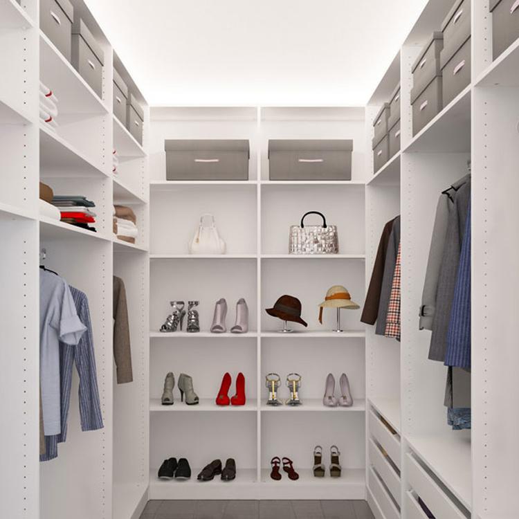 Custom Made Modern Closet Melamine Inside Design Wardrobe Bedroom Furniture Home Furniture Wooden Babies and Kids Panel Bathroom
