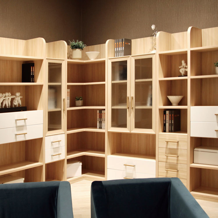 American style wood cabinet wardrobe furniture space saving wall cabinet designs