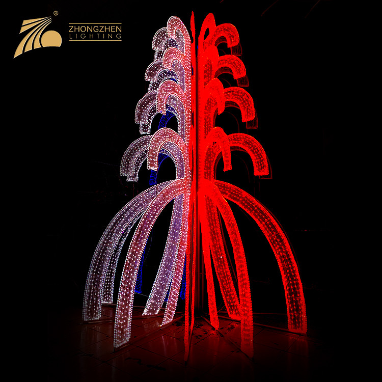 Low Power Consumption Outdoor Waterproof IP44 Holiday Decorative LED Lighting