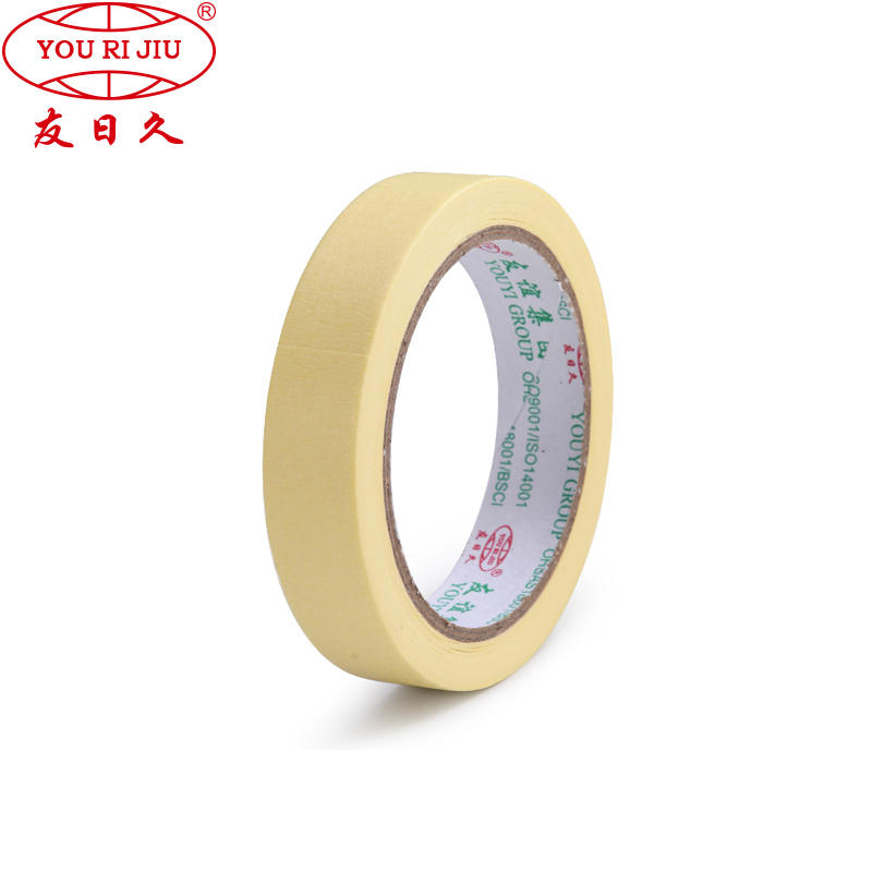 High temperature resistance for car painting automotive masking tape