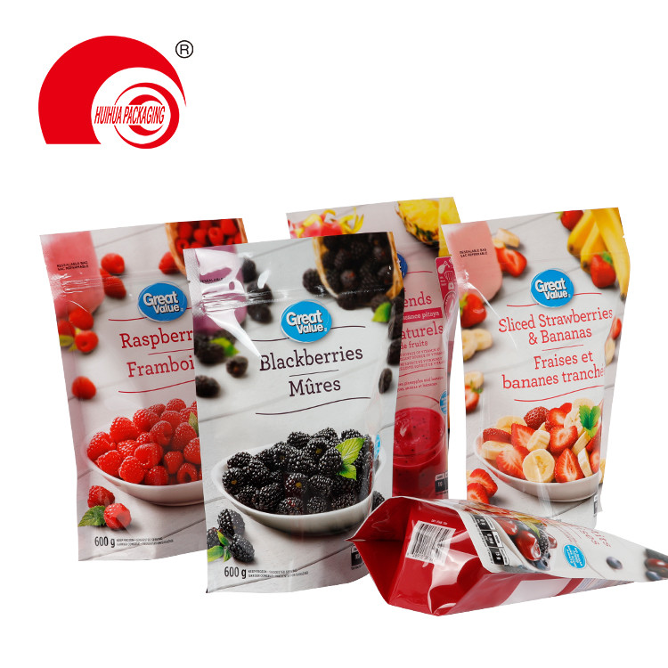 product-Huihua-Resealable Plastic Fresh Fruit Packaging Bag Black Berries Raspberries Strawberries P