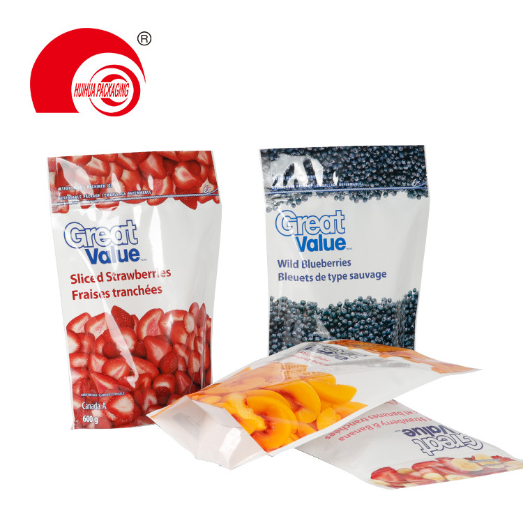 product-Sliced Strawberries banana Peaches Wild Blueberries Packaging Pouch Fruit Packaging Plastic -1
