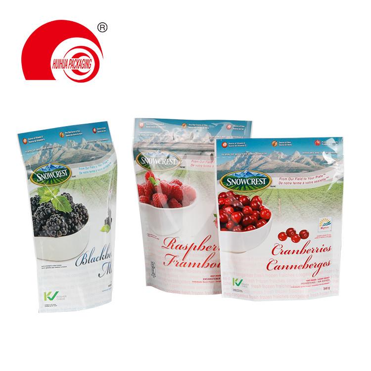 Food Grade Fruit Package Plastic Bag Cranberries Raspberries Blackberries Packaging Bag