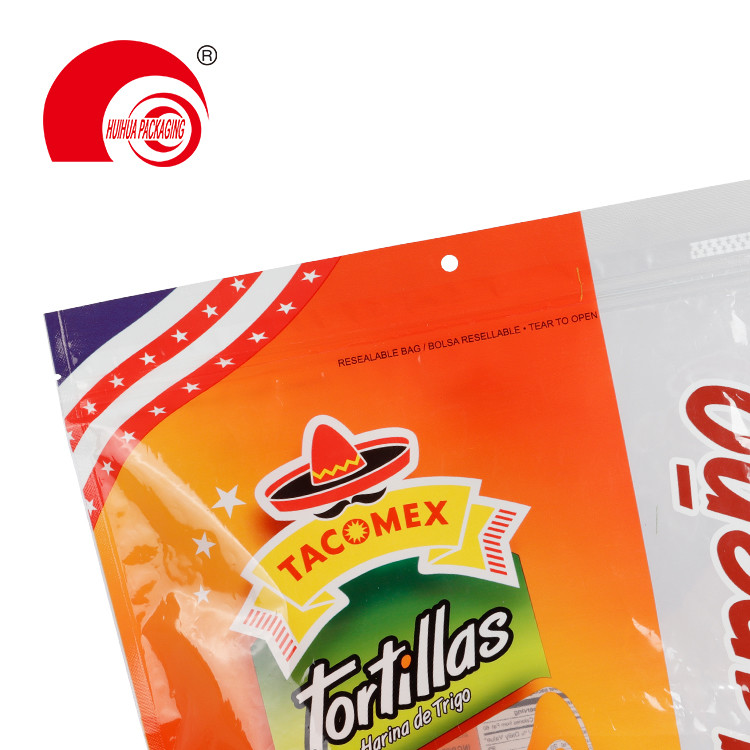 product-Custom Printing Fresh Fruit Packaging Bag Pouch with Clear Window Resealable Ziplock-Huihua-1