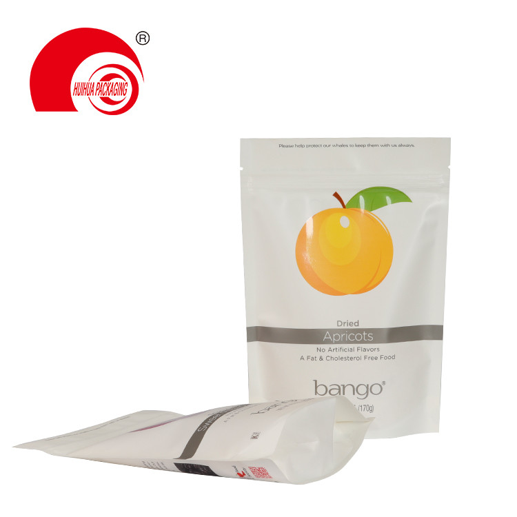 product-Huihua-Custom Printed Pitted Prunes Apricots Plum Pouch Stand Up Fruit Packaging Bag with Zi