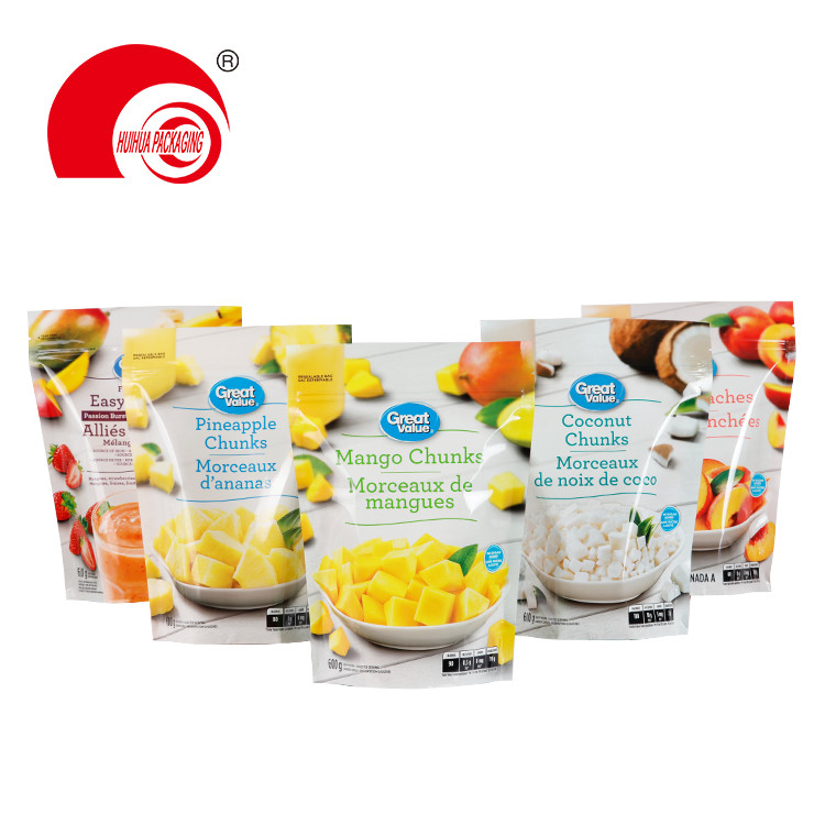 product-Fruit Mix Peaches Coconut Pineapple Chunks Packaging Pouch PE Packaging Bag for Fruits-Huihu-1