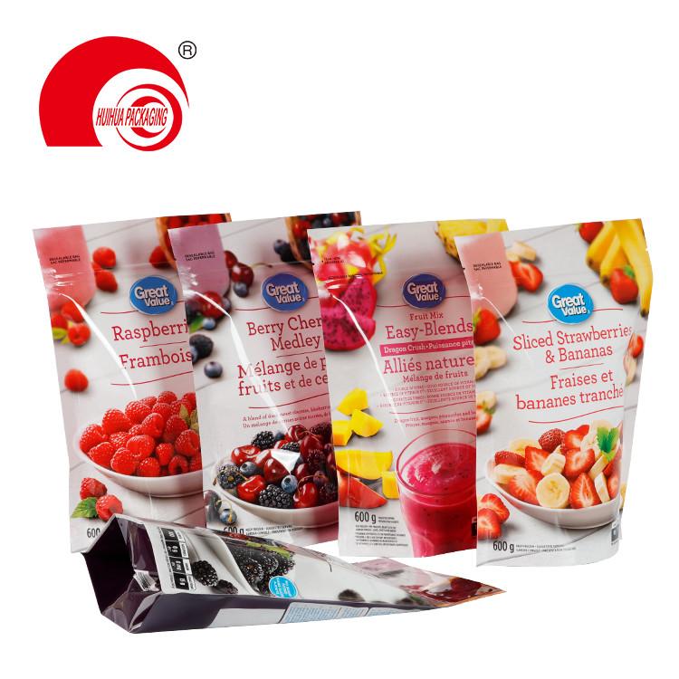 product-Resealable Plastic Fresh Fruit Packaging Bag Black Berries Raspberries Strawberries Package -1