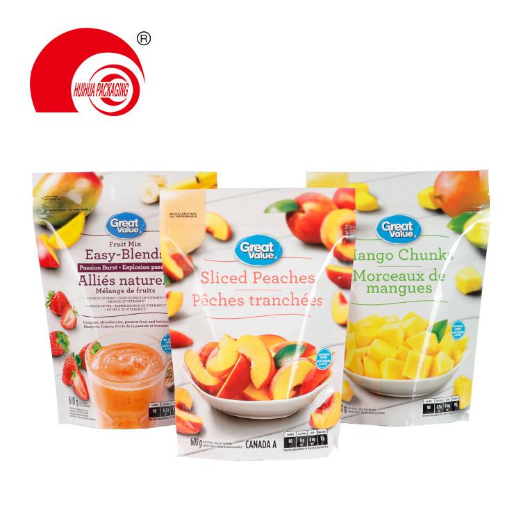 product-Huihua-Fruit Mix Sliced Peaches Mango Chunk Packaging Bag Laminated Plastic Fruit Package Ba