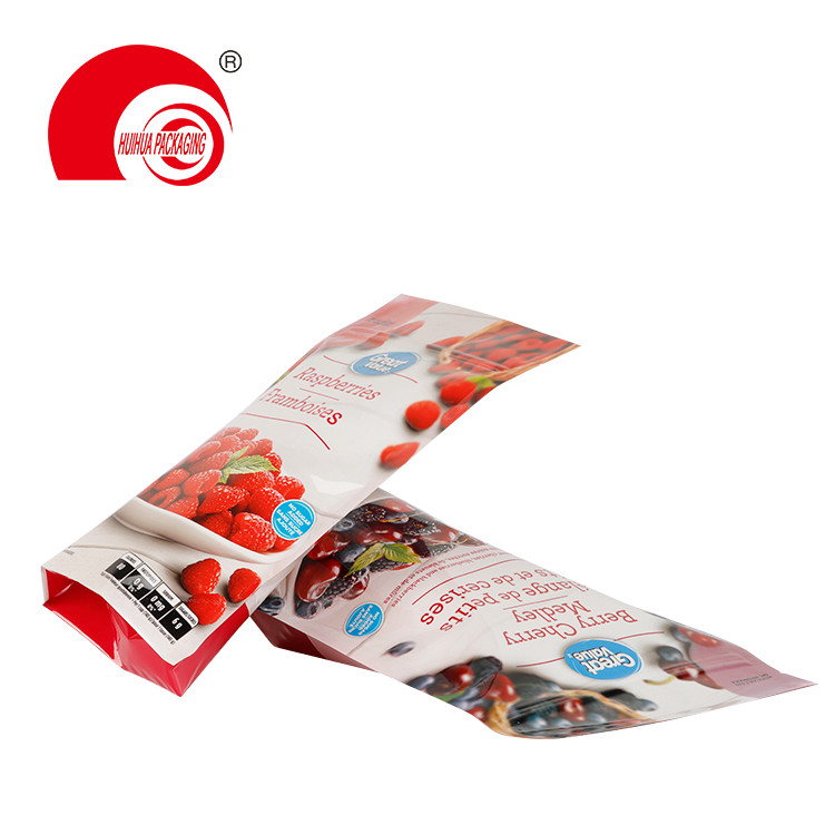 product-Stand Up Resealable Fruit Packaging Pouch Raspberries Berry Cherry Medley Storage Bag-Huihua-1