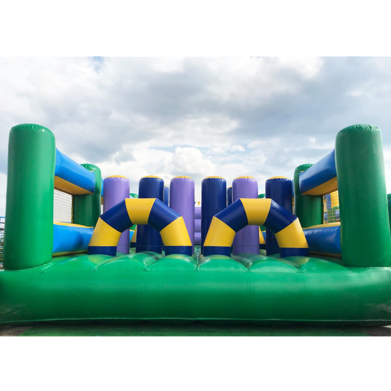 team building sport games Giantinflatable obstacle course amusement park
