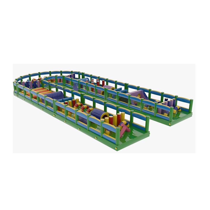 team building sport games Giantinflatable obstacle course amusement park