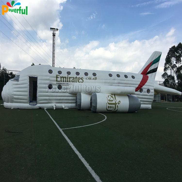 Newairplane inflatable obstacle course amusement park