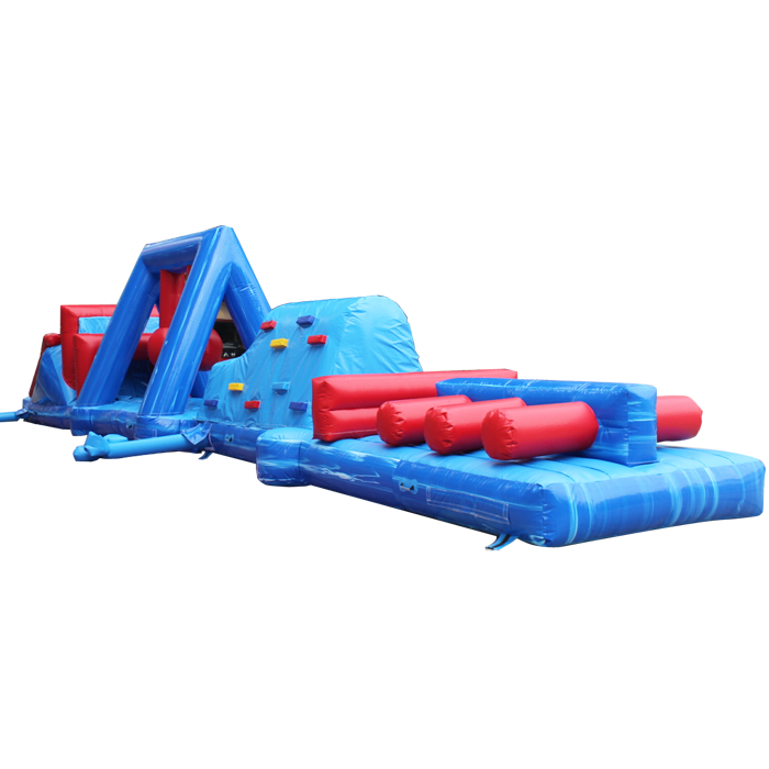 inflatable obstacleinflatable bouncer water obstacle for sale