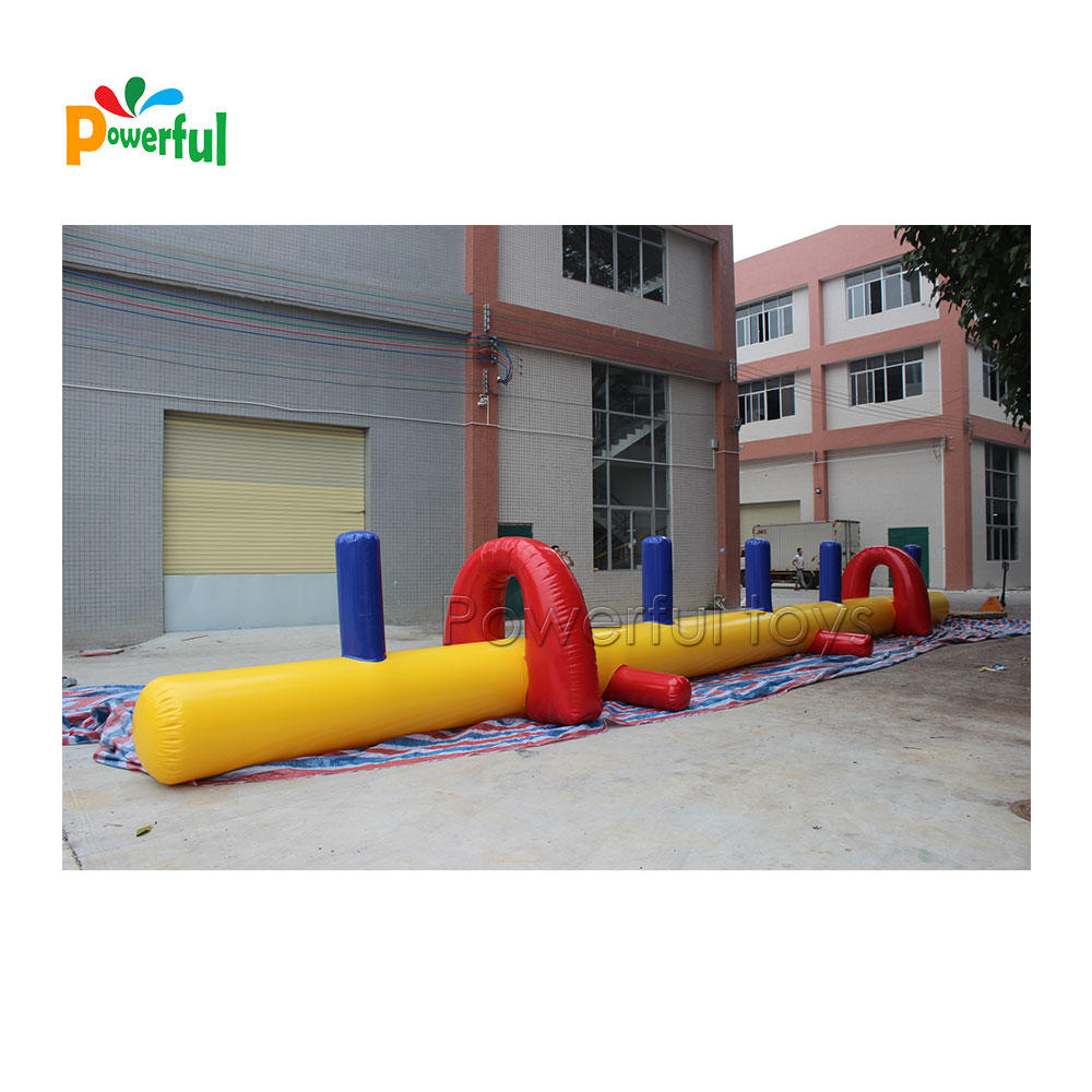 Inflatable water sports equipment , inflatable obstacle course for water