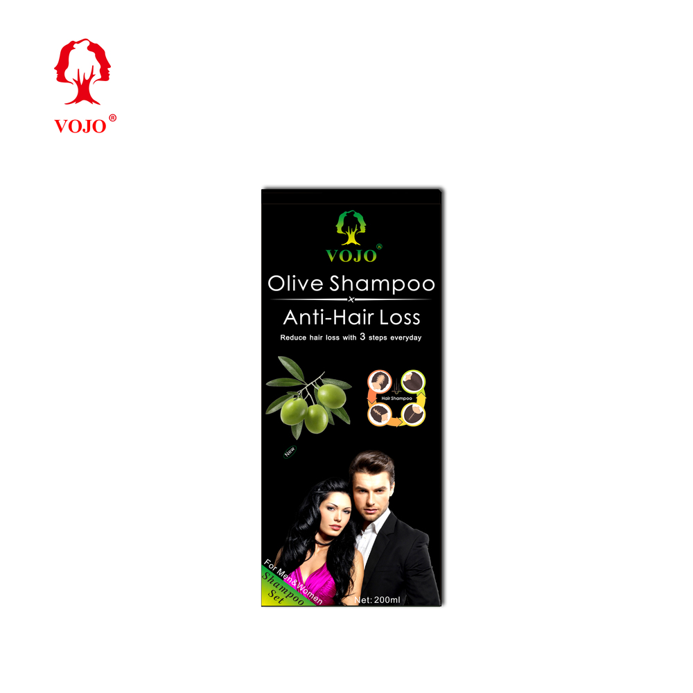 Factory Price Wholesale Organic Chinese herbal olive essenceAnti Hair Loss Hair Shampoo