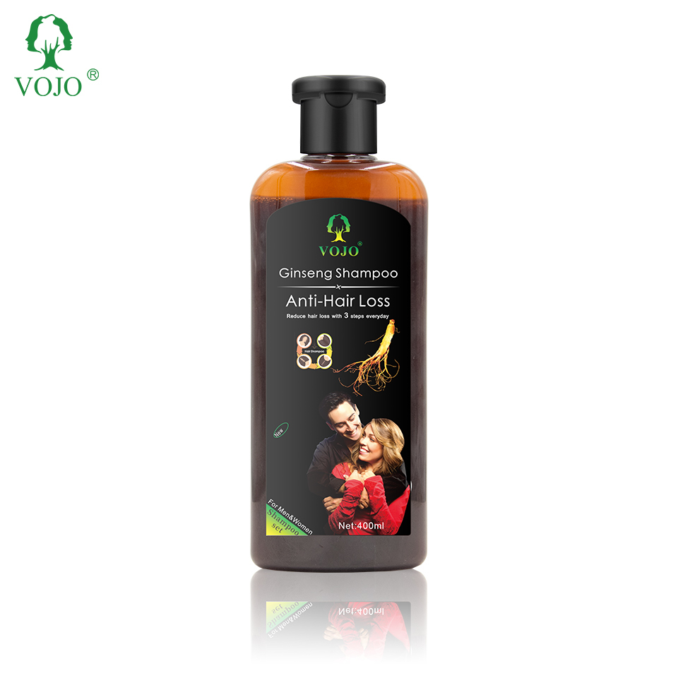VOJOYANMEI Organic Hair Growth Oil Private Label Anti Hair Loss Liquid Ginger Extract thickening volumizing Hair Oil Ser