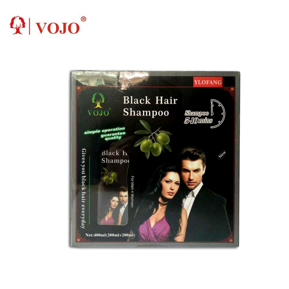 2018 yosaten black hair shampoo the best selling in arabic countries fast black hair color shampoo