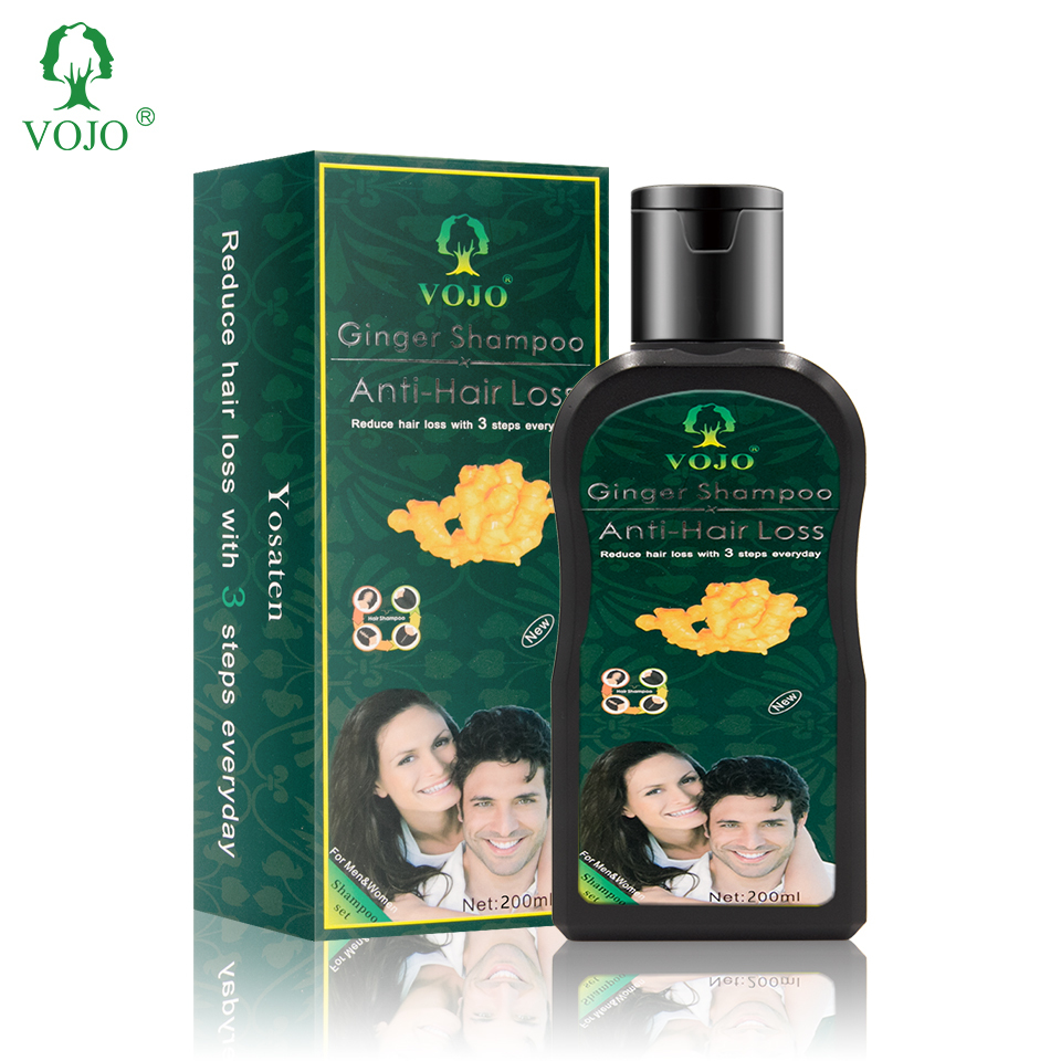 VOJO professional oem private label mild herbal shampoo organic sulfate free best hair dye shampoo