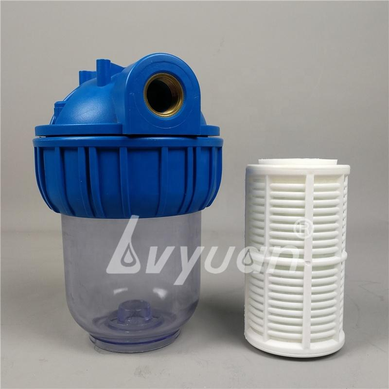 5 10 inch Backwash Water Filter / Polyphosphate crystal Filter with housing