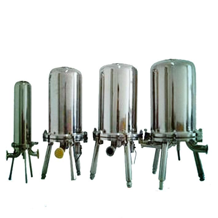stainless steel water filter cartridge housing/Filter bag custom design