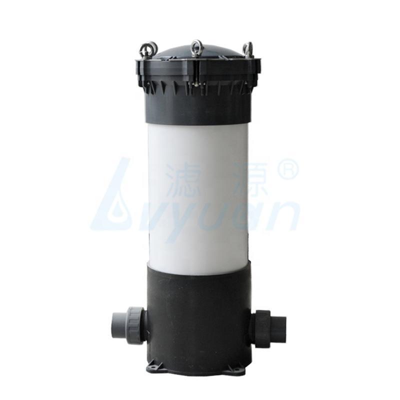UPVC Cartridge Filter Housing / UPVC Filter for sea water pre-treatment
