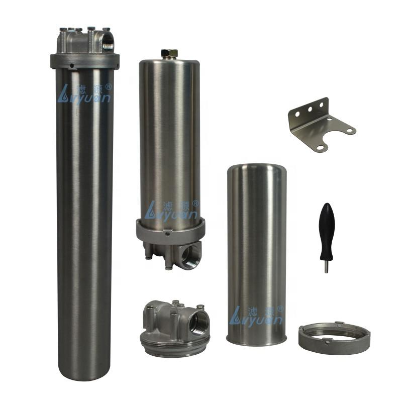 10 20 inch Home use Steel stainless water filter housing