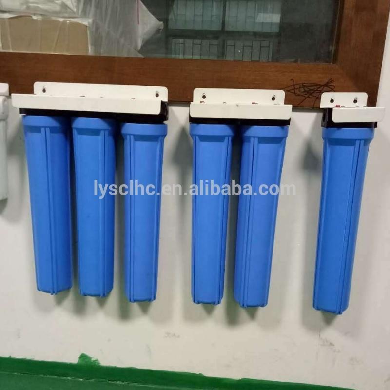 10 20 inch Slim/Big blue Clear water Sediment pre filter housing