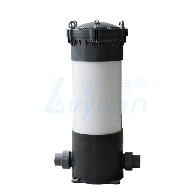 10 20 30 40 inch UPVC cartridge filter housing with filter element 3589 pcs filters or sea water desalination