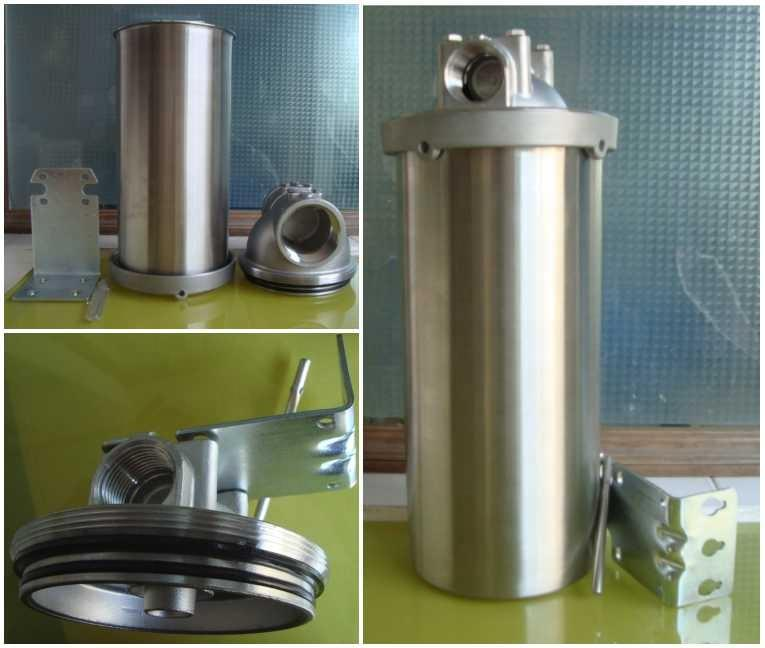 Household Food Grade 20 inch Big Blue and stainless steel filter housing 10'' inch