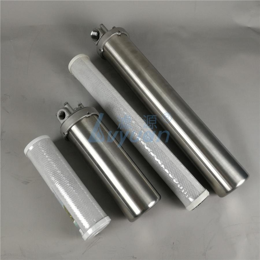 20 inch water filter housing Filter Stainless Steel 10'' 20'' for drinking water purifier