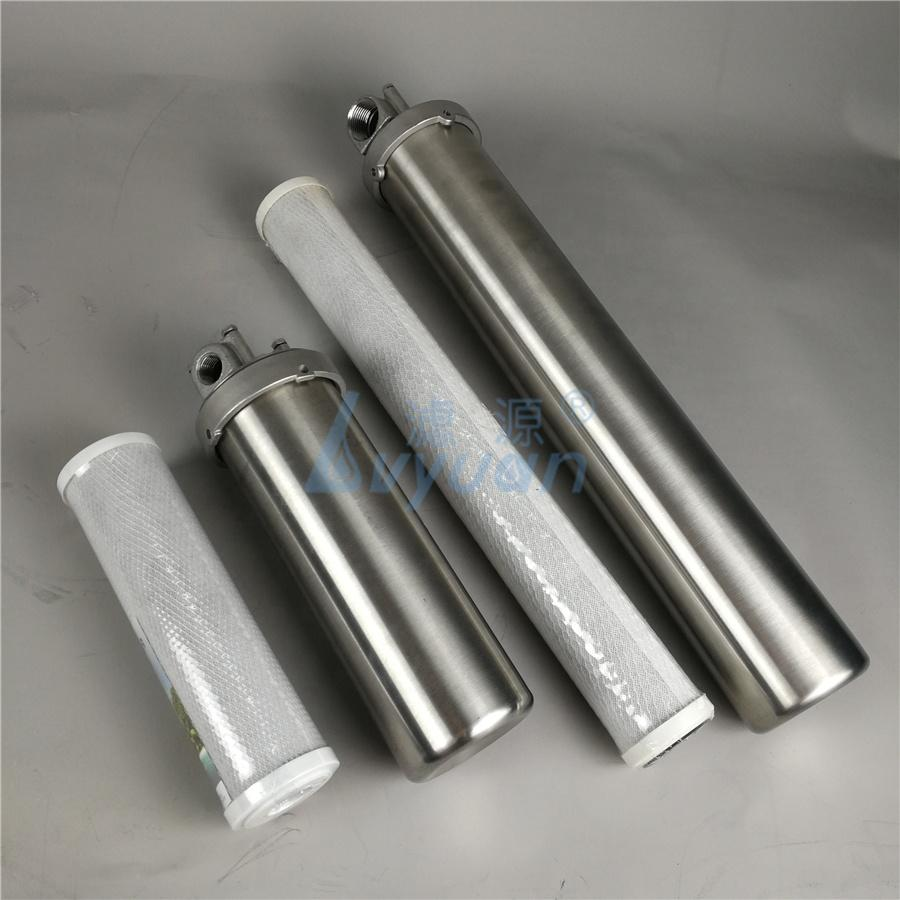 5 10 20''inch Slim Jumbo SS 304 stainless filter housing size 10