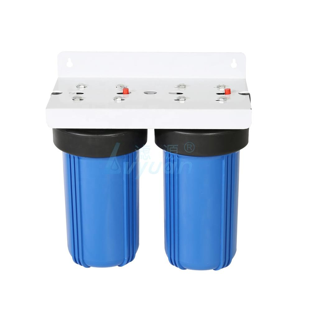 single cartridge filter water filter blue 10'' housing for water filtration