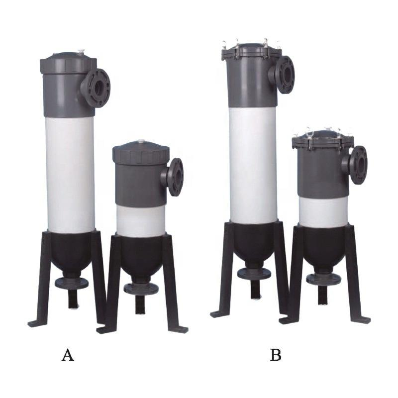 customized Length and cartridge quantity UPVC/ pvc filter housing cartridge filter for industrial water filtration